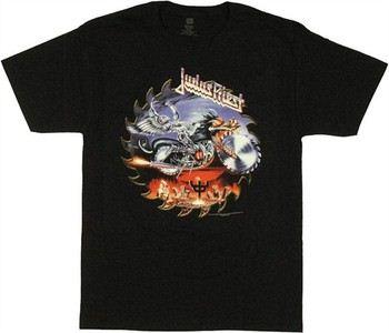 Judas Priest Painkiller Saw Blade T-Shirt