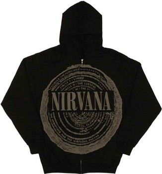 Nirvana Circles of Hell Full Zipper Hooded Sweatshirt