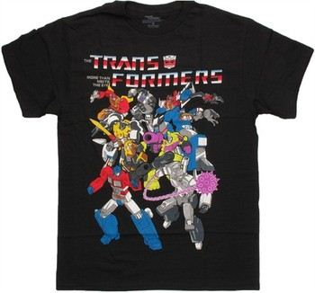 Transformers Classic Group T-Shirt