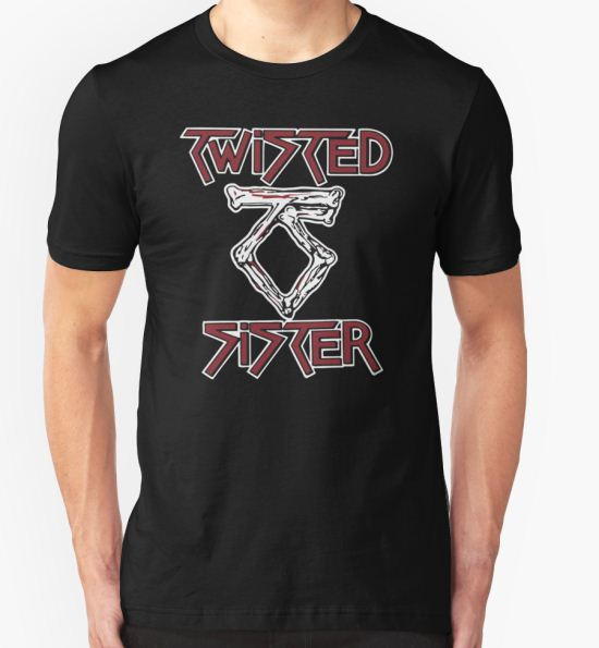 'TWISTED SISTER STAY HUNGRY' T-Shirt by avadore T-Shirt