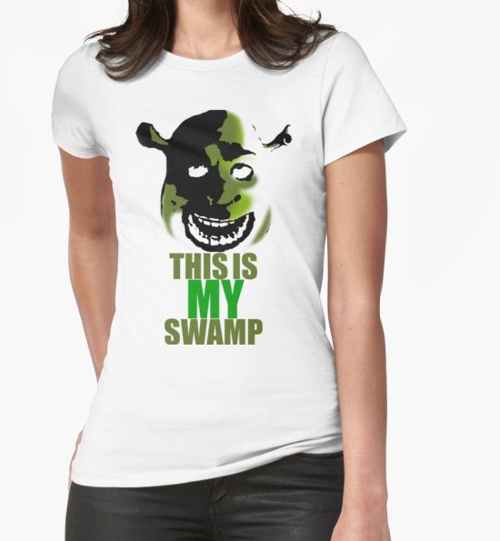 This is my swamp - Shrek is love. Shrek is life. T-Shirt by GreenWithEvil T-Shirt