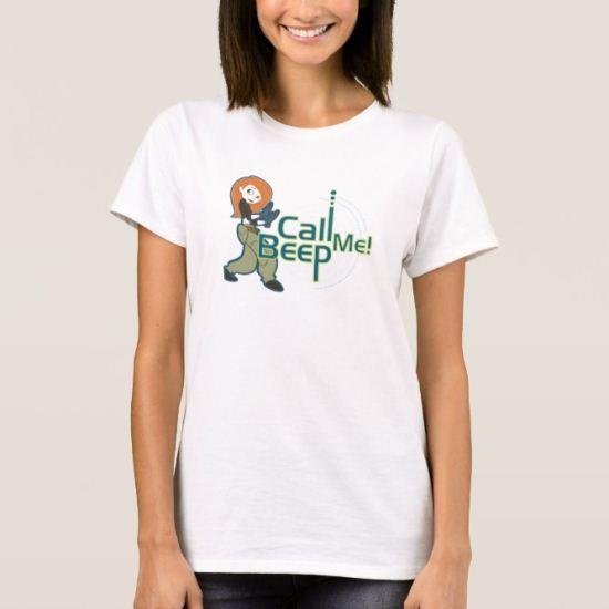 Kim Possible Call Me Beep Disney T-Shirt