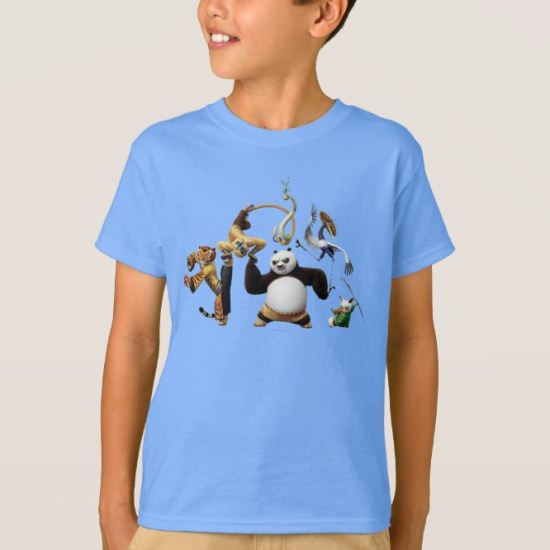 Po Ping and the Furious Five T-Shirt