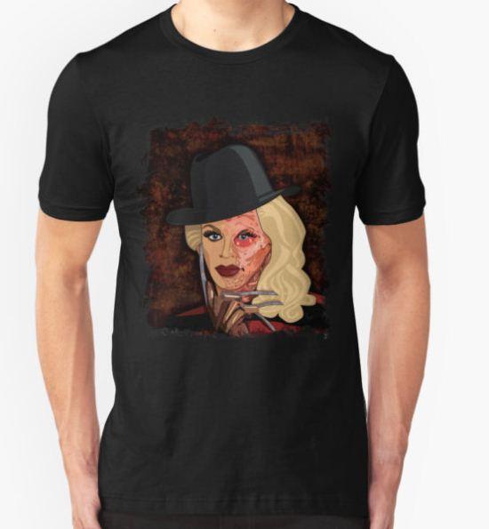 Katya Zamolodchikova - Freddy Krueger T-Shirt by LaurothyGayle T-Shirt