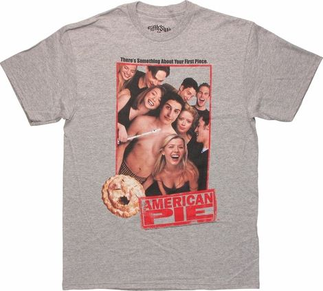 American Pie Group Photo Gray T Shirt