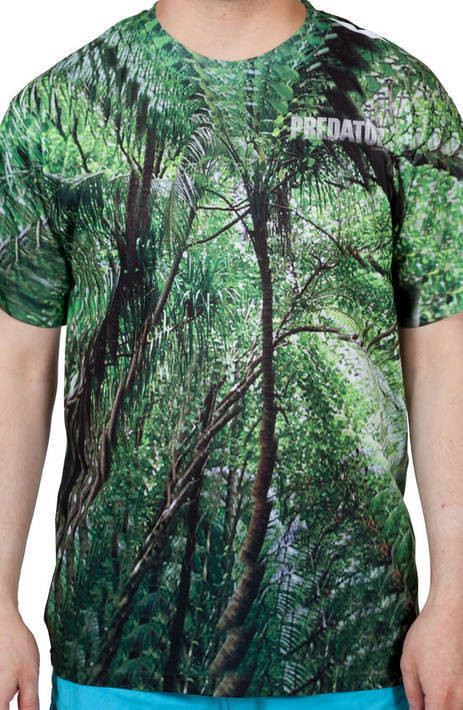 Predator Camo Sublimation Shirt