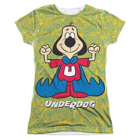 Underdog Flexing Sublimation Juniors Shirt