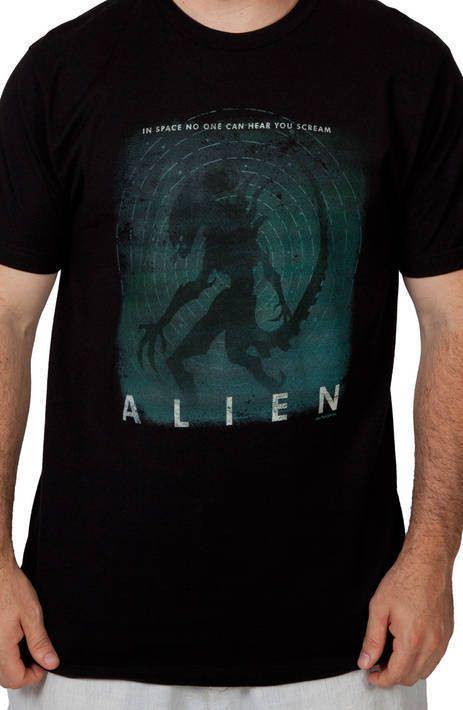 No One Can Hear You Scream Alien Shirt
