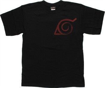 Naruto Konoha Scroll T-Shirt