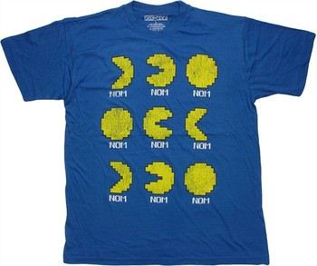 Pacman 9 Nom Phases T-Shirt
