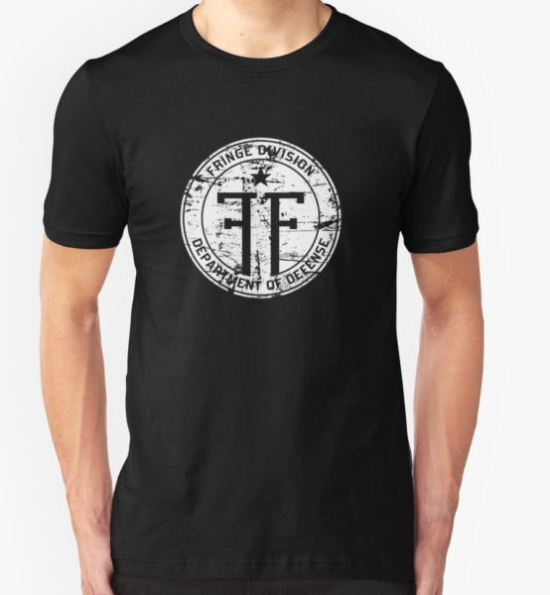 Fringe Division T-Shirt by synaptyx T-Shirt