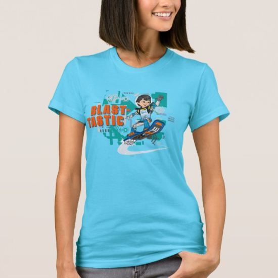 Blast-Tastic Miles Callisto Blastboard Graphic T-Shirt