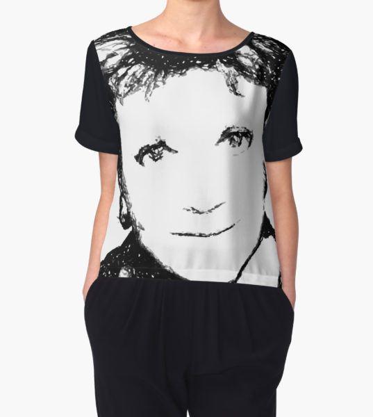 murder mystery Women's Chiffon Top by cursis T-Shirt