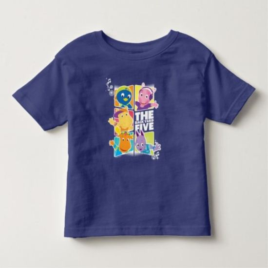 The Backyardigans | The Backyard Five Toddler T-shirt