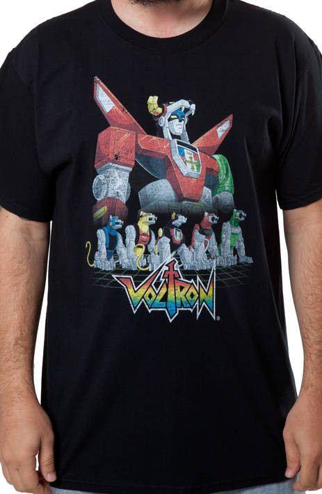 Voltron Lions Shirt