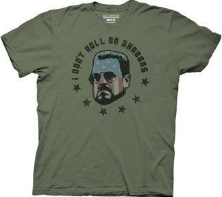 Big Lebowski I Don't Roll On Shabbas T-shirt