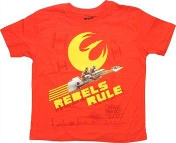 Star Wars Rebels Rule Juvenile T-Shirt