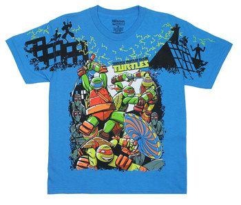 It's Turtle Time! - Teenage Mutant Ninja Turtles Juvenile And Youth T-shirt