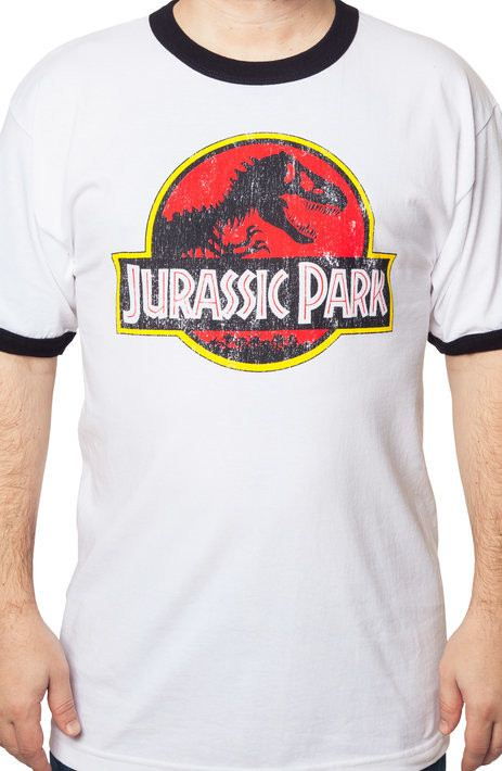 Jurassic Park Ringer T-Shirt