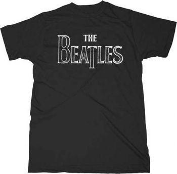 The Beatles Back to Basics Black Adult T-shirt