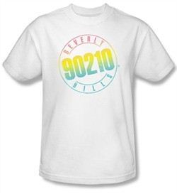 Beverly Hills 90210 Toddler T-Shirt Color Block Cast White Tee