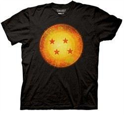 Dragonball Z Shirt Dragonball Adult Black Tee T-Shirt