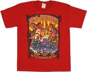 ... Guitar Hero Kaiju Megadome Battle Youth T-Shirt dc933fcf20