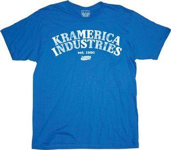 Seinfeld Kramer Kramerica Industries T-shirt