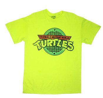 Retro Logo - Teenage Mutant Ninja Turtles T-shirt