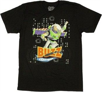 Disney Toy Story Buzz Lightyear Dots T-Shirt Sheer