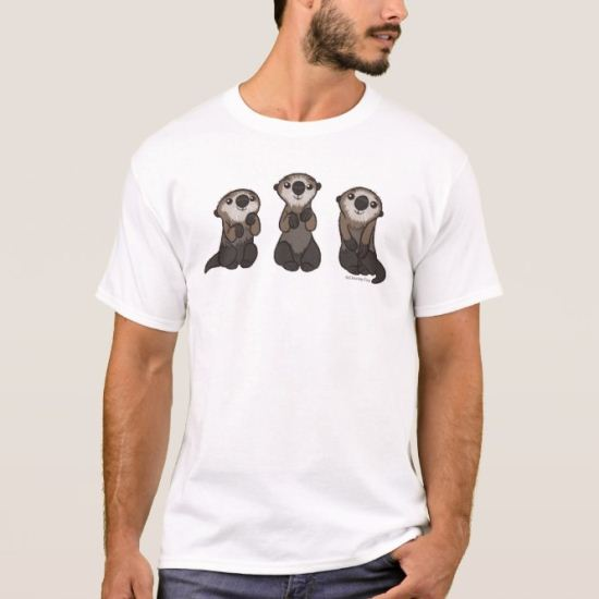 Finding Dory Otters T-Shirt