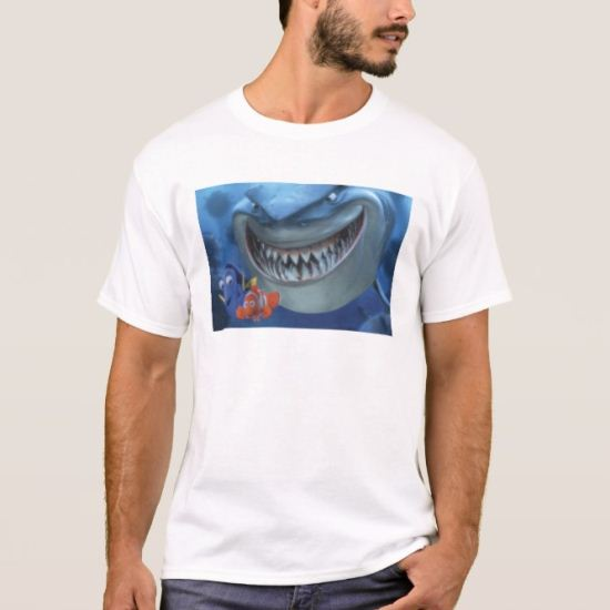 Finding Nemo Bruce Chasing Dori and Marlin T-Shirt