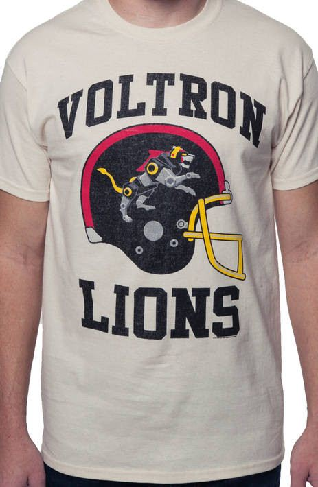 Voltron Lion Helmet Shirt