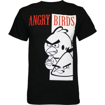 Angry Birds Scarface Parody T-Shirt