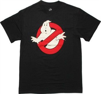 Classic Logo Ghostbusters Glow in the Dark T-Shirt