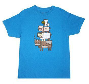 Animal Totem - Minecraft T-shirt