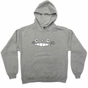 Totoro Grey Hoodie (Kids)