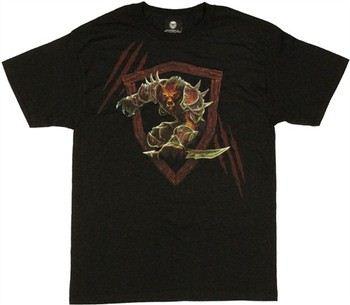 World of Warcraft Worgen Frame T-Shirt