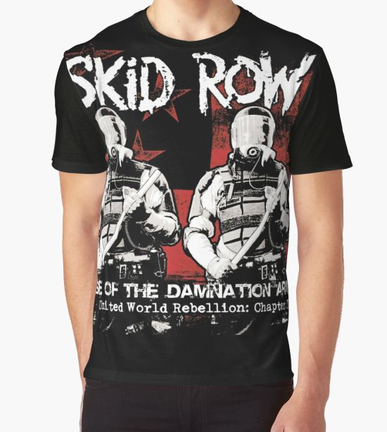 ANISUNO06 Skid Row Tour 2016 Graphic T-Shirt by anisuno16 T-Shirt