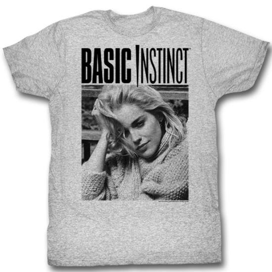 Basic Instinct Shirt Photo Adult Athletic Heather Tee T-Shirt