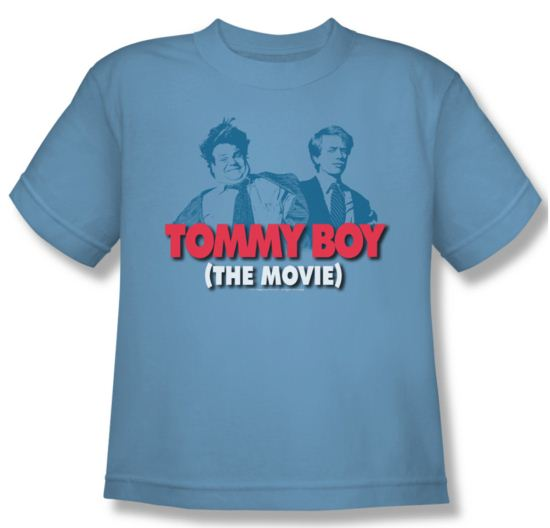 Tommy Boy Shirt Kids Movie Logo Carolina Blue Youth Tee T-Shirt