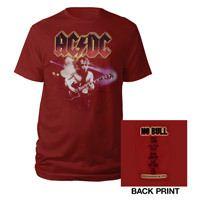 AC/DC Mens Angus No Bull T-Shirt
