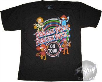 Fraggle Rock Tour Youth T-Shirt