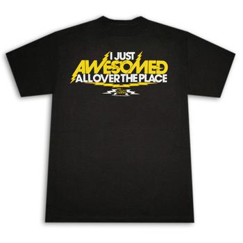 How I Met Your Mother I Just Awesomed Black Graphic TShirt