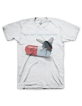 Red Hot Chili Peppers Fly Prints Men's T-Shirt