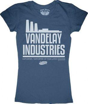 Seinfeld Vandelay Industries Juniors Tee