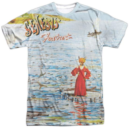Genesis Shirt Foxtrot Cover Sublimation T-Shirt