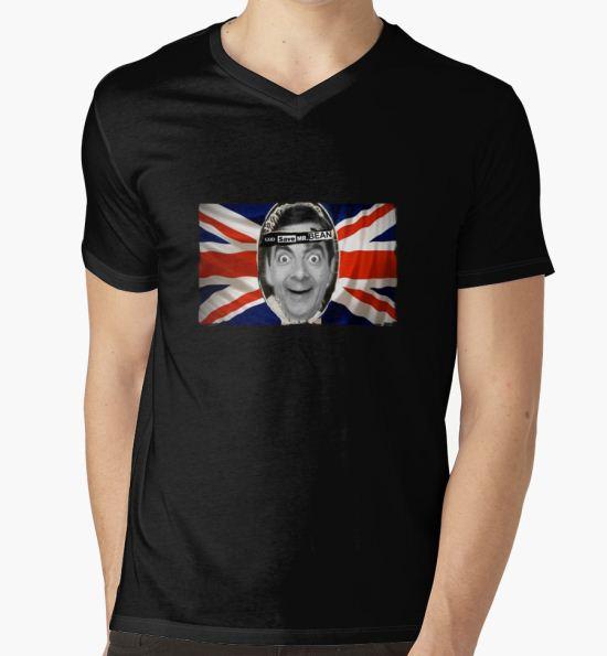 GOD SAVE MR. BEAN T-Shirt by Karl Willson T-Shirt