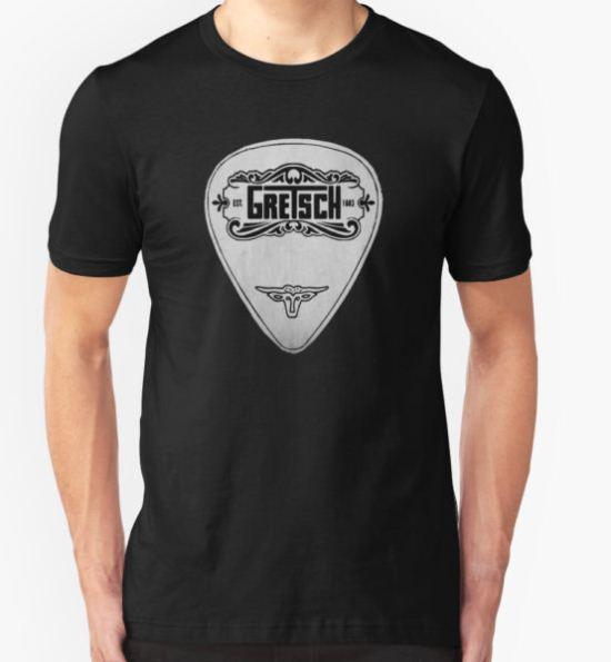 GRETSCH pick plectrum T-Shirt by mandyjp43 T-Shirt