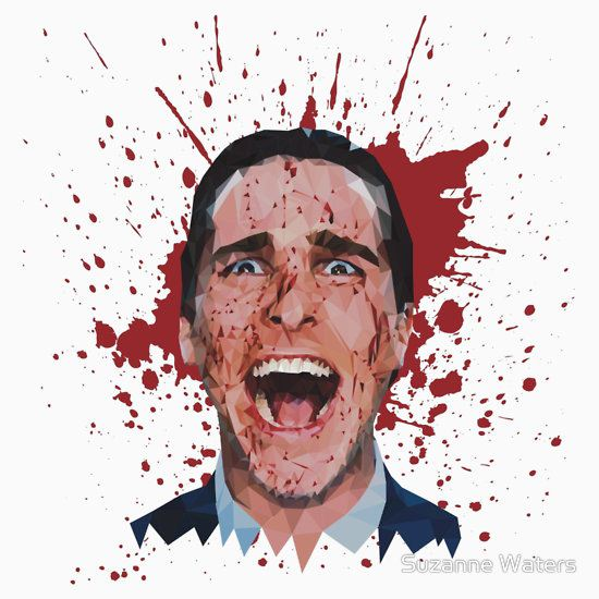 American Psycho by Suzanne Waters T-Shirt